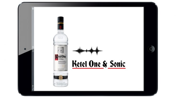 Ketel One & Sonic app design