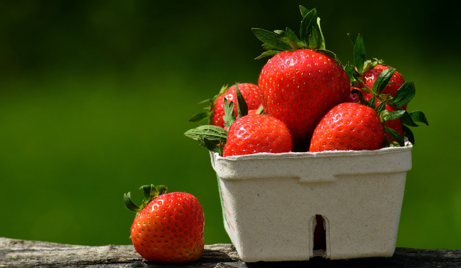 Strawberries are the happiest fruit