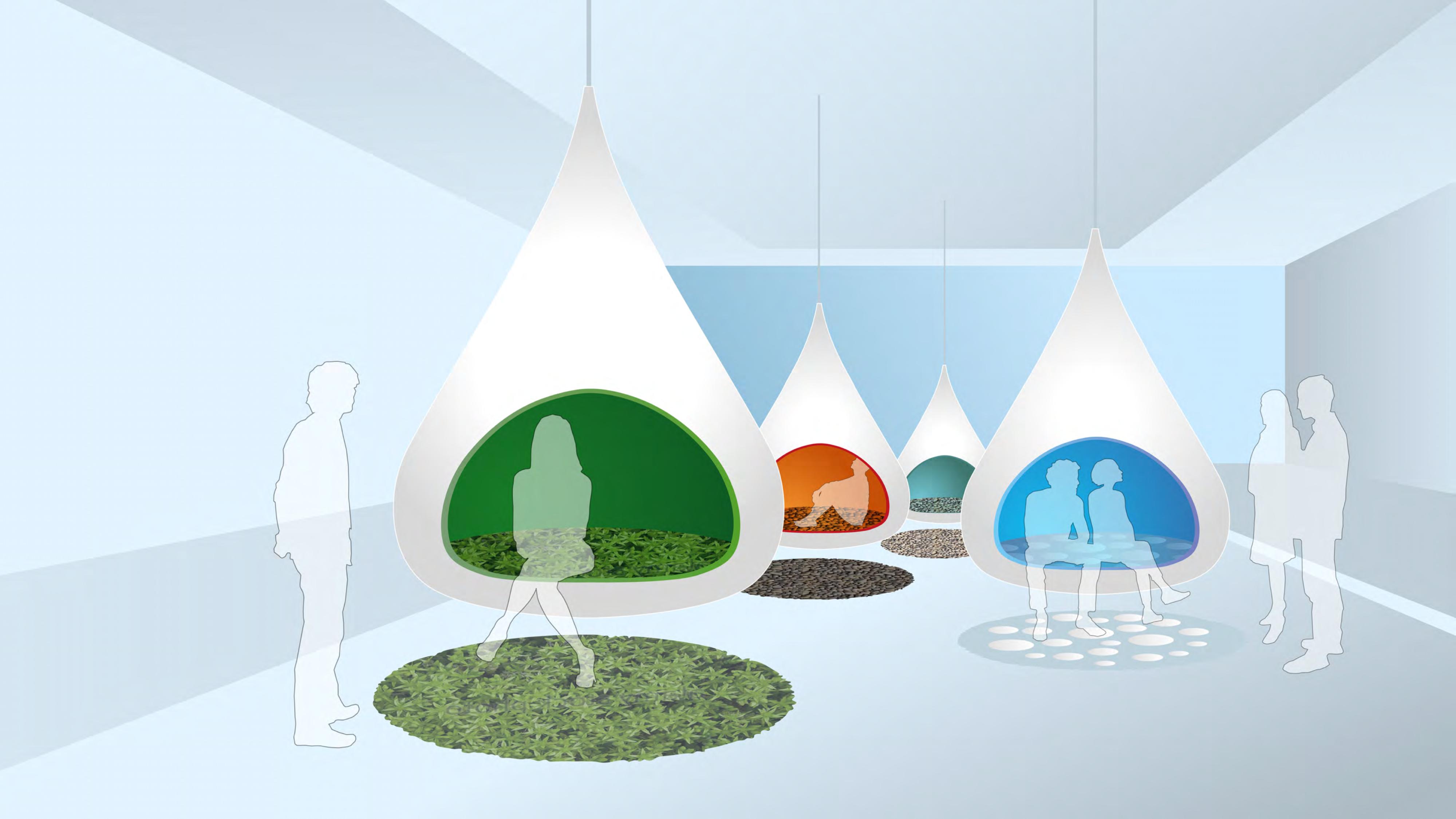 TUI sensory pods design